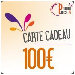 Carte Cadeaux Electronique - PromoParcs 100 € - Envoi par mail
