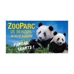 Billet CE 1 Jour Enfant -ZooParc de Beauval - Tarif TAM TAM - tranche 5000 billets