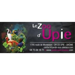E-billet 1 jr enfant Zoo d'Upie Saison 2018 - dpt 26