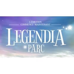 E-billet 1 jour enfant Legendia Parc - Saison 2019- Période Jaune - Validité 11/11/2018