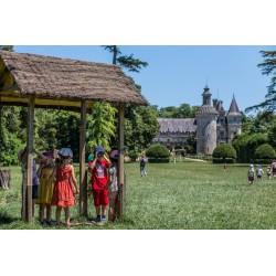 E-billet 1 jour enfant (de 4 à 12 ans inclus)  -Chateau des Enigmes à Pons (dpt 17)- Saison 2018
