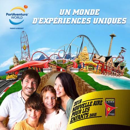 PortAventura Park - billet Enfant 2 Jours - Promo CE