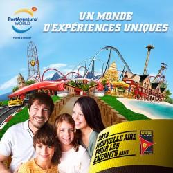 E-billets 3 jours adulte  PortAventura + Ferrariland - 3 Jours- 2 Parcs