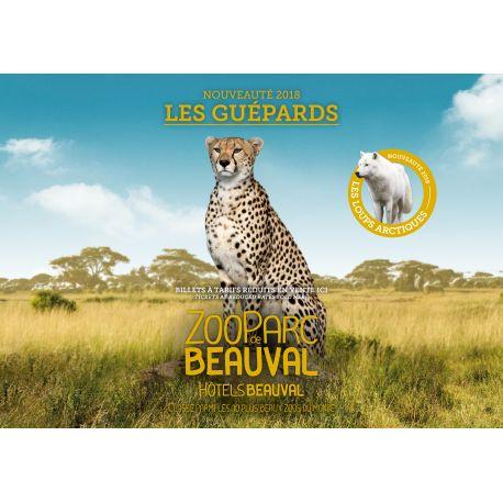 E-billet Promo Beauval 1jr-Visite entre le 1er octobre 2018  et le 31 mars 2019