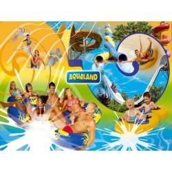 Billet Enfant et sénior valable Aqualand de France