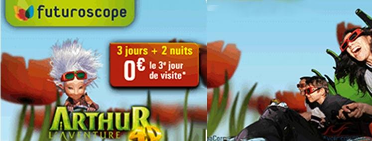 Promo Sejour Futuroscope 2011