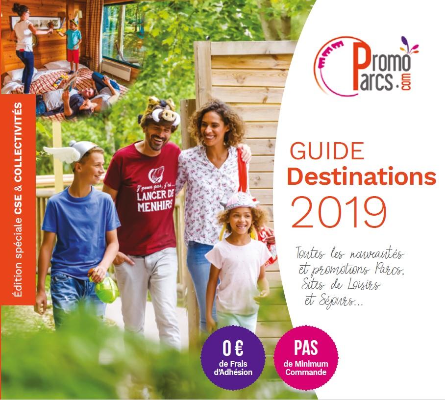 Guide Destinations 2019 Parcs et Séjours