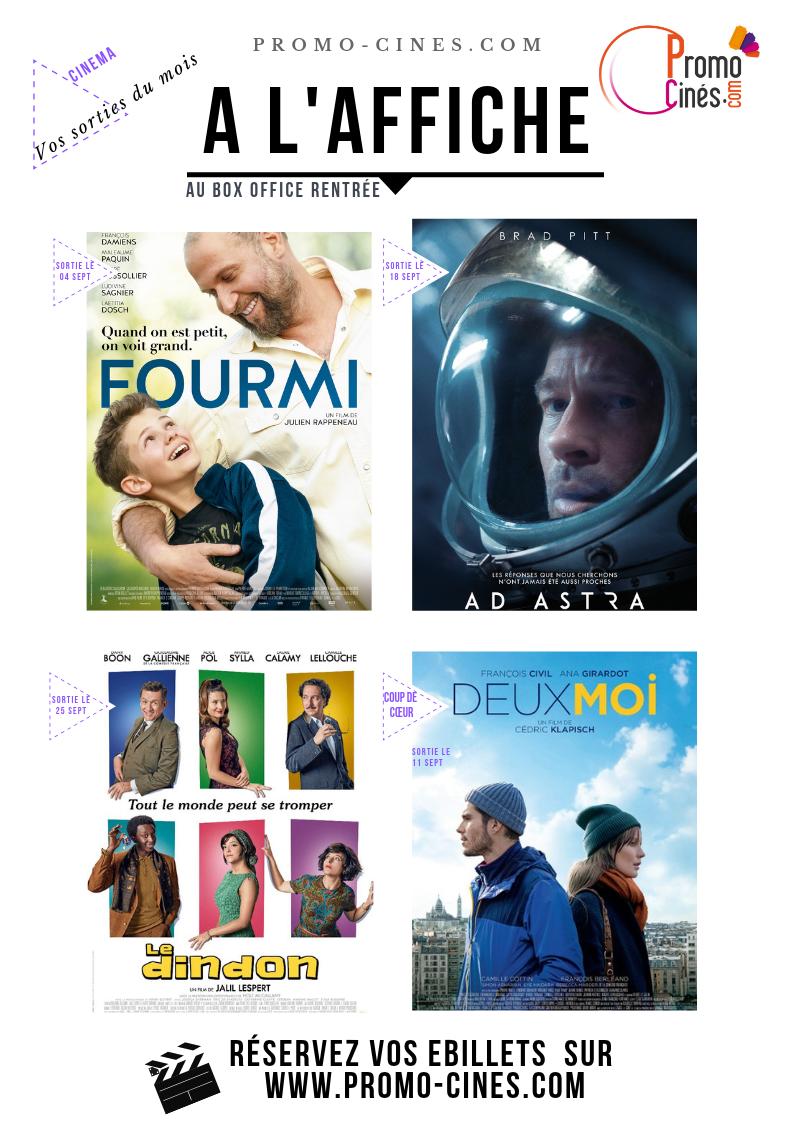 Afficfe cinémas pour le CE