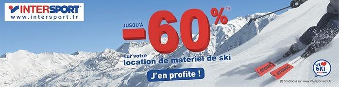 Intersport - Location de ski moins cher