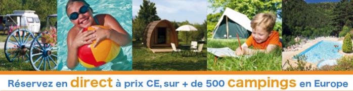 Location de campings CE moins chers