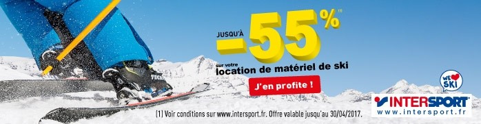 Bannière Intersport 2017